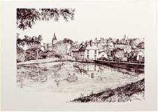 Midhurst Pond (B&W)