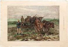 Ploughing On The Sussex Downs (2).