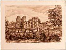 Cowdray Ruins, Midhurst.