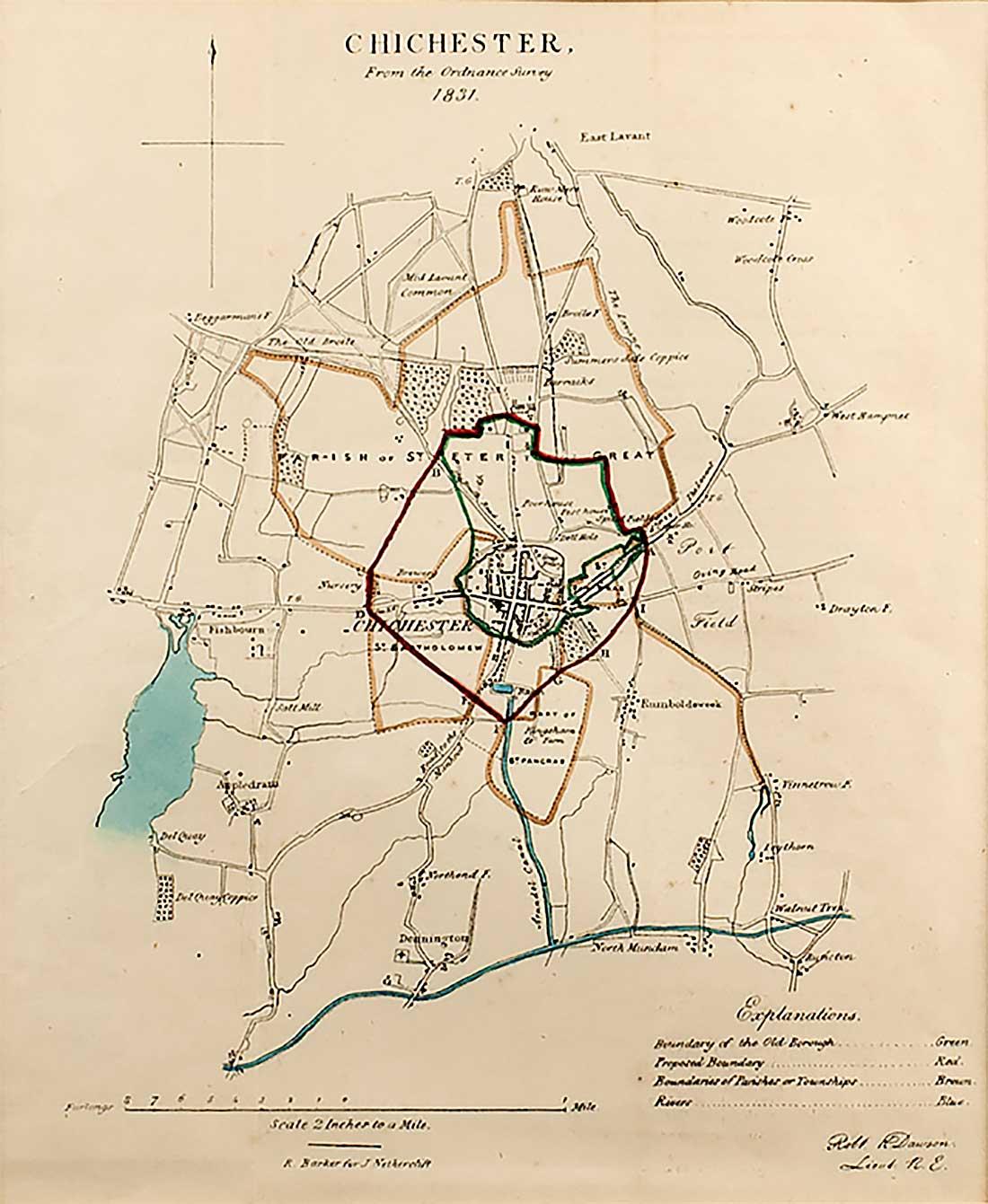 Map Sussex