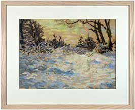 woodland-snow