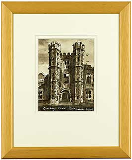 cowdray-house-ruins