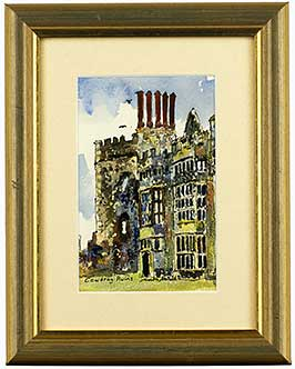 cowdray-ruins-pen-ink