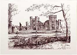 midhurst-ruins-b-w