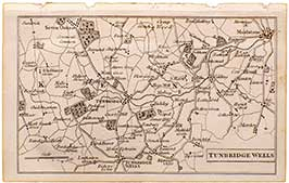 Tunbridge Wells Miniature Map