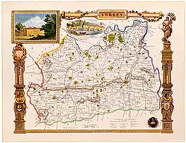 thomas-moule-s-1830-map-of-surrey-1