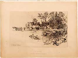 cowdray-etching